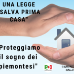 "Proposta di legge ""Salva prima casa"""