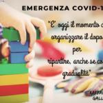 COVID-19: ORGANIZZARE IL DOPO PER RIPARTIRE
