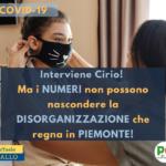 COVID19 E GIUNTA CIRIO: POVERO PIEMONTE!