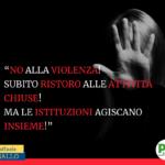 AIUTI ALLE ATTIVITA' IN DIFFICOLTA' MA LA VIOLENZA MAI!!