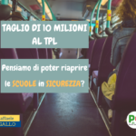 TAGLIO MILIONARIO AL TPL