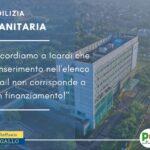 EDILIZIA SANITARIA: DA ICARDI SOLO ANNUNCI