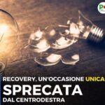 RECOVERY:NON E' GESTIRE L'ORDINARIO MA PROGETTARE IL FUTURO