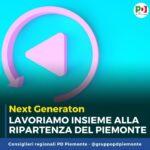 Next Generation Piemonte. Una commissione in Consiglio per trarne il meglio.